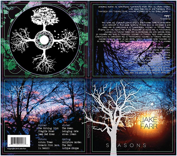 Jake Farr CD Package Design
