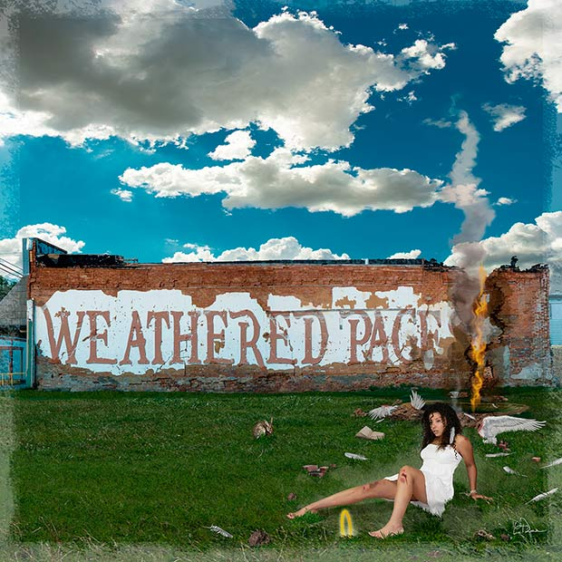 Weathered Pages CD Cover Artwork